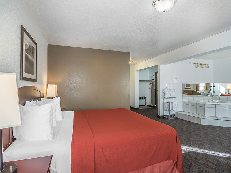 King Suite Room in Fort McMurray